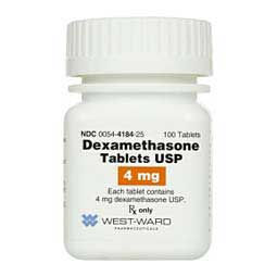 Dexamethasone Tablets for Dogs Generic (brand may vary)